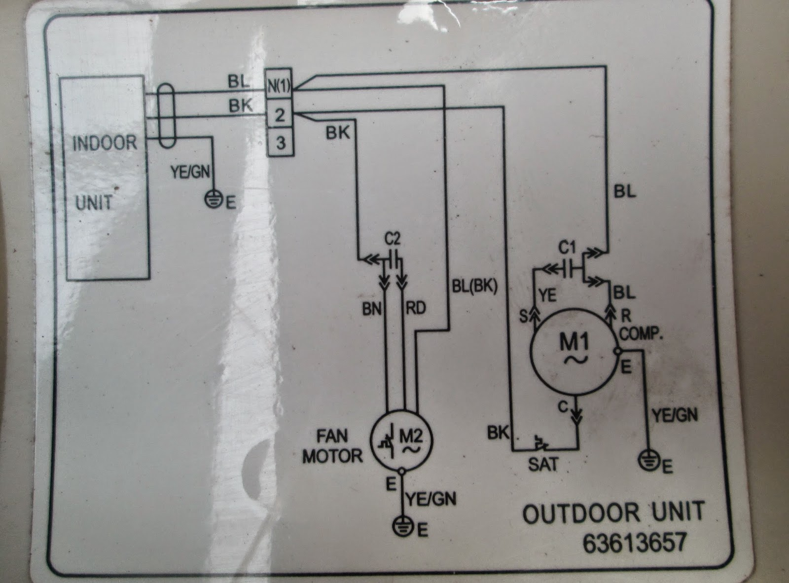 Wiring Diagram Kelistrikan Ac Split Manual Outdoor Service Kota Serang Baru Air Conditioner Motor Internal Di Dvd