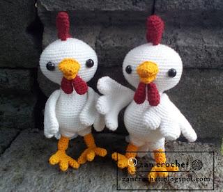 Rooster ~ Zan Crochet