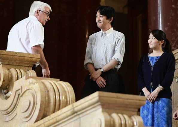 Prince Akishino and Princess Mako visited a folk museum in Budapest. Wedding ceremony of Kei Komuro and Princess Mako