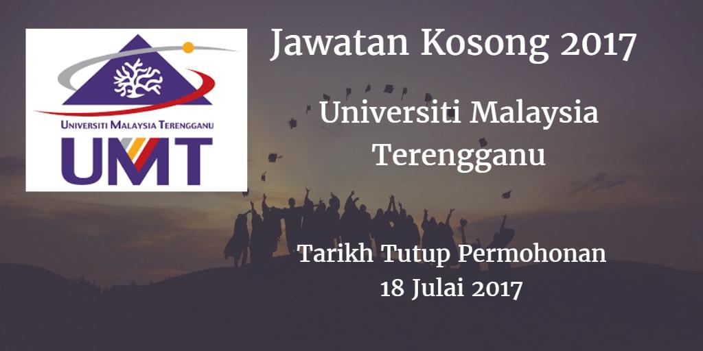 Jawatan Kosong UMT 18 Julai 2017