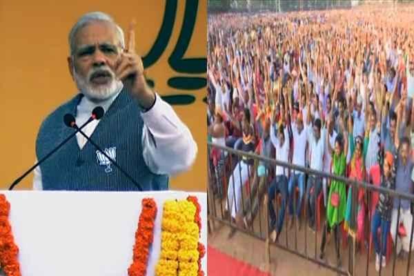 गोवा के लोगों को इतना भाया PM MODI का भाषण, लोग बजाते रहे 1 मिनट तक तालियाँ, तड़ातड़, तड़ातड़