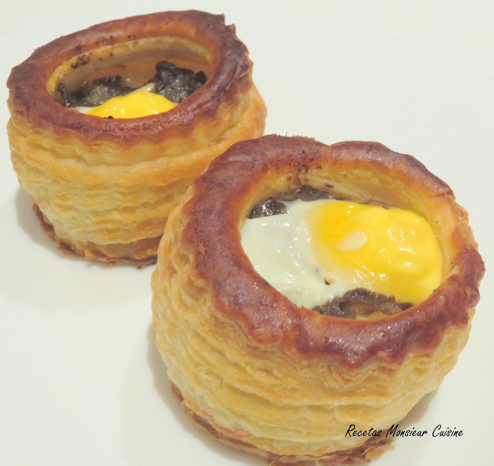 Recetas Monsieur Cuisine Volovanes De Morcilla