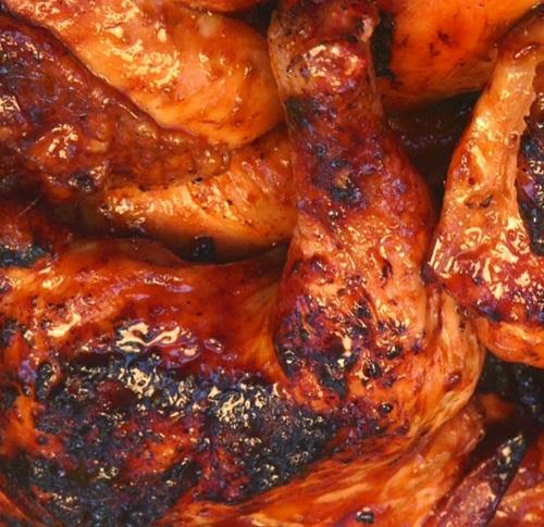 resepi ayam panggang madu pedas, cara masak ayam panggang madu pedas sedap dan mudah, pemanggang ajaib happy call lazada, resepi ayam panggang madu bbq
