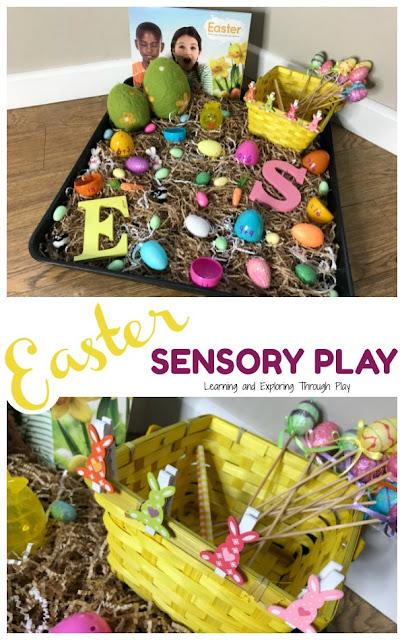 Easter Sensory for Preschoolers