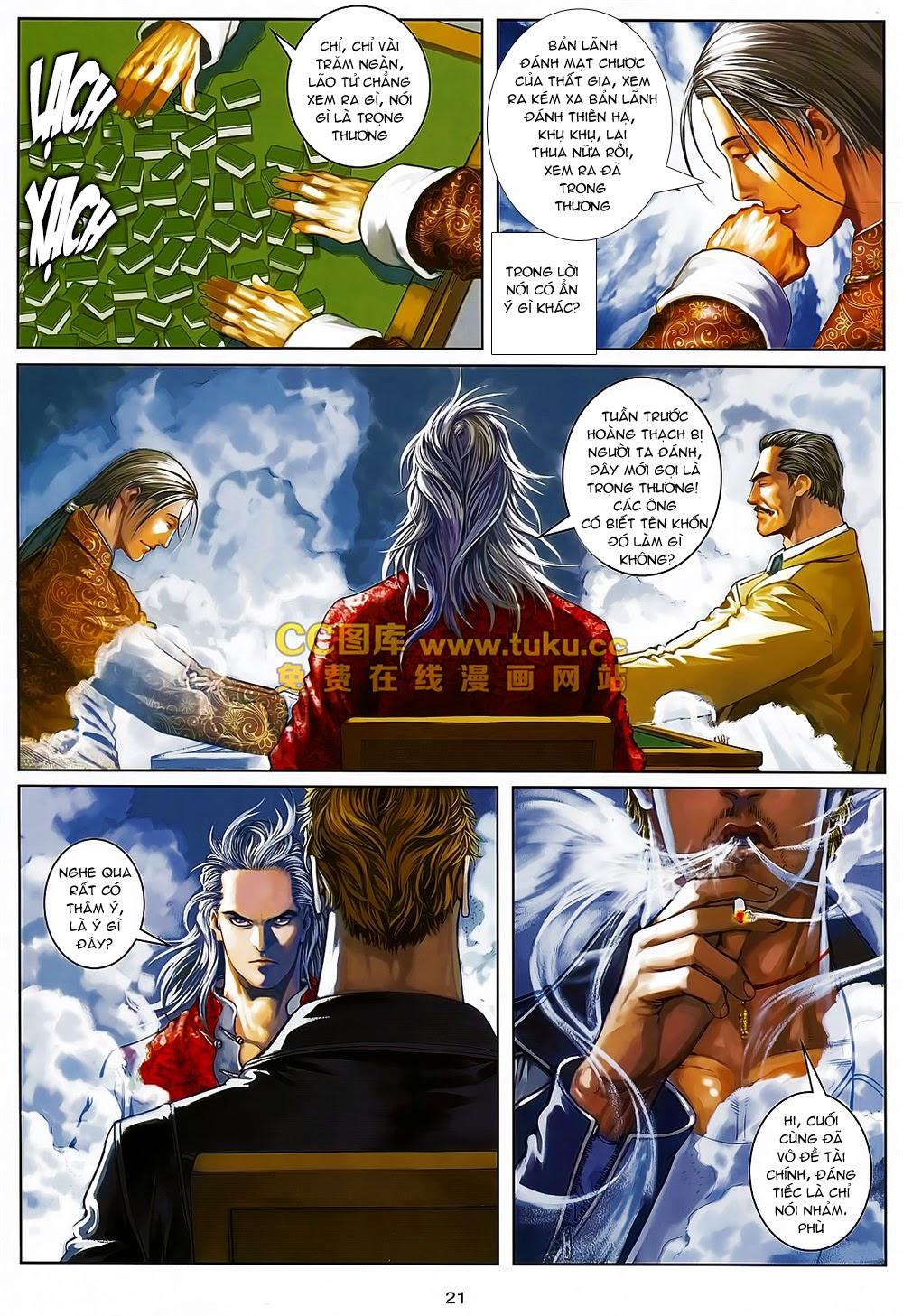 Quyền Đạo chapter 6 trang 20