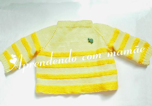 casaquinho de bebê, tricô, Lã Cisne Super Bebê, casaquinho para Recém nascido, Ponto meia, Ponto tricô, Ponto barra 1 tricô, casaquinho bicolor, criança, mamãe
