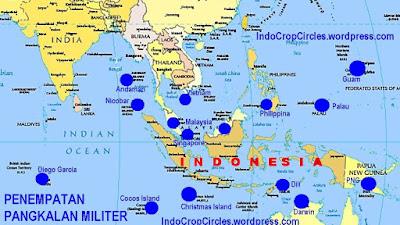15 PANGKALAN MILITER AMERIKA KEPUNG INDONESIA.
