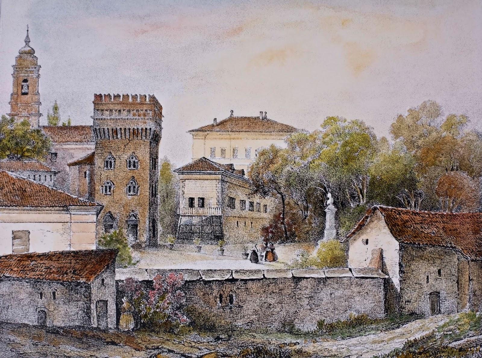 Dipinti Murali E Pittura Ad Ago : Sguardi su torino: omaggio a gonin enrico e francesco artisti