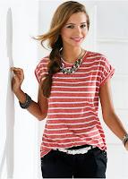 Bluză cu un model în tendințe (bonprix)