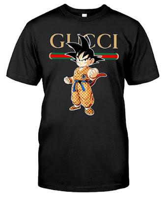 Goku Gucci T Shirt, Goku Gucci Shirt