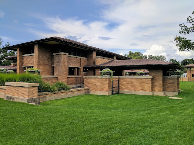 Frank Lloyd Wright's Martin House Complex in Buffalo, New York