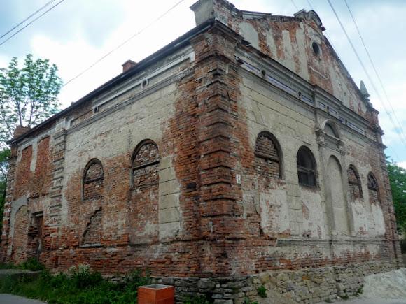 Старий Самбір. Синагога