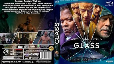 CARATULA GLASS BLURAY