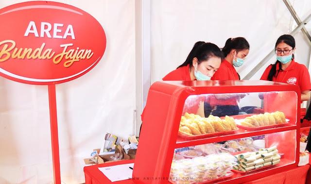 Area Bunda Jajan Festival Bunda Generasi Maju Taman Tegallega Bandung