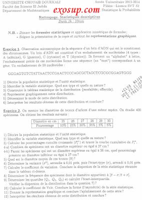 sujet des examens SVI S3 FSJ