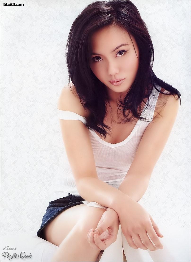Singaporean Sexy Girl Singapore Girl Phyllis Quek-4612