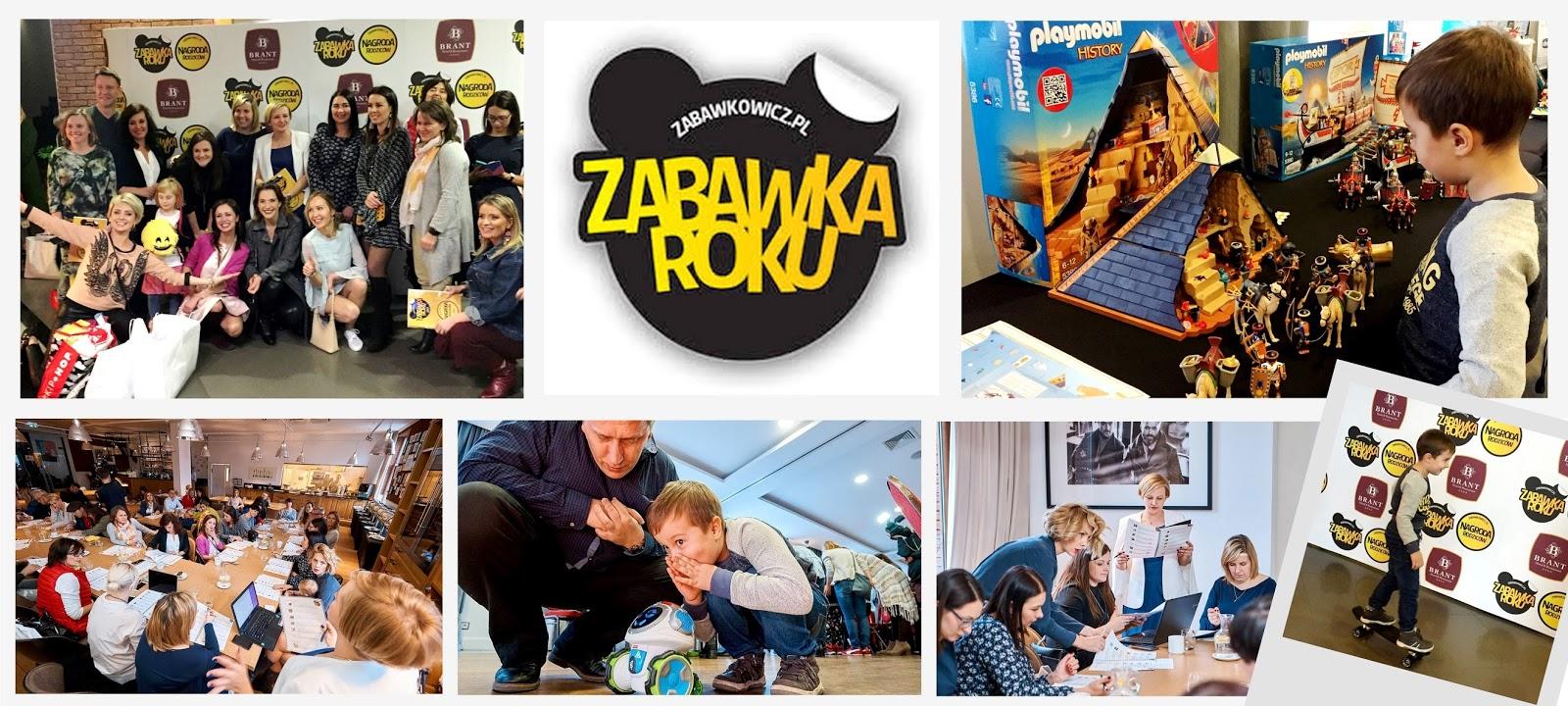 VIII edycja Zabawki Roku - Najlepsze zabawki i gadżety dla dzieci wybrane!