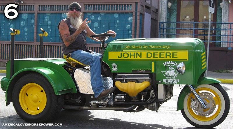 John Deere Themed Motorcycles Gallery Example