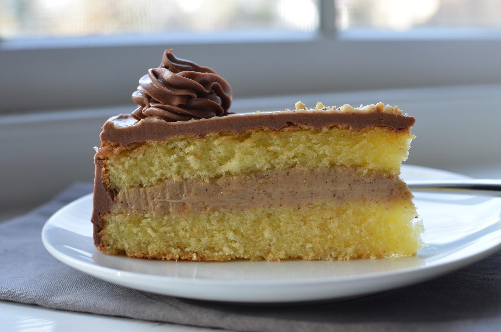 Chocolate Praline Cake Filling