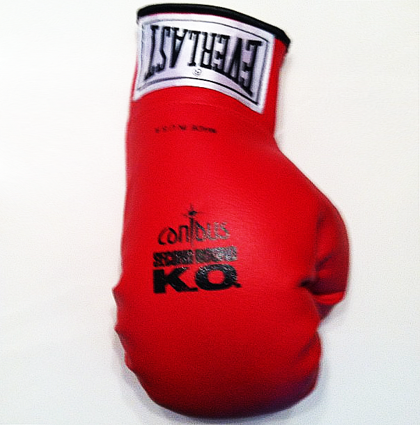 Canibus Second Round K.O. Promo Boxing Gloves LL Cool J Rap Battle Hip-Hop Nostalgia