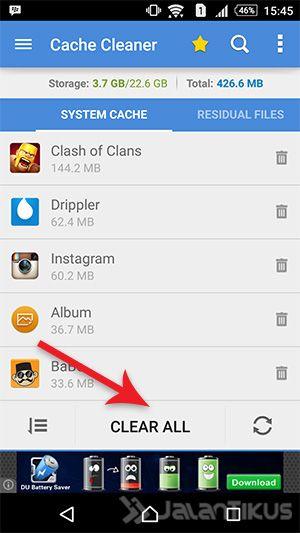 Cache Android Penuh? Hapus Dengan Aplikasi App Cache Cleaner Apk