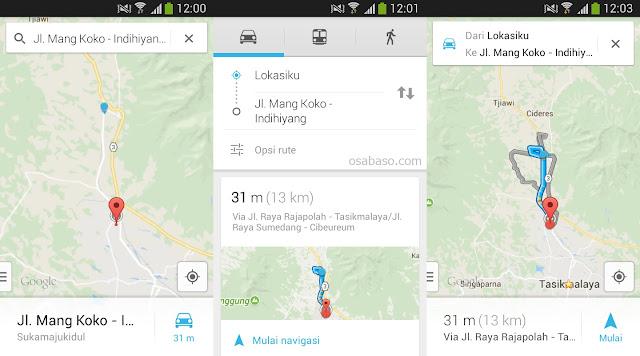 Cara Menggunakan Google Maps Di Android