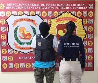 Agentes del Departamento de Investigaciones de la Policía Nacional de Alto Paraná, detuvieron en la mañana de ayer sábado, a un hombre que formaría parte del grupo criminal Primer Comando Capital (PCC). El operativo se realizó en la vía pública del barrio Ñasaindy de Ciudad del Este.