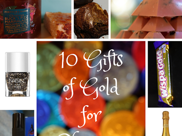 Gifts of Gold for Christmas