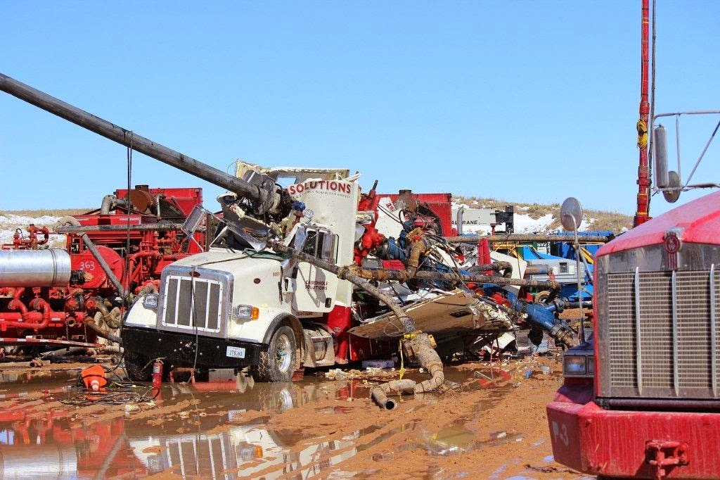 There Are Many Hazards Related To Hydraulic Fracturing And
