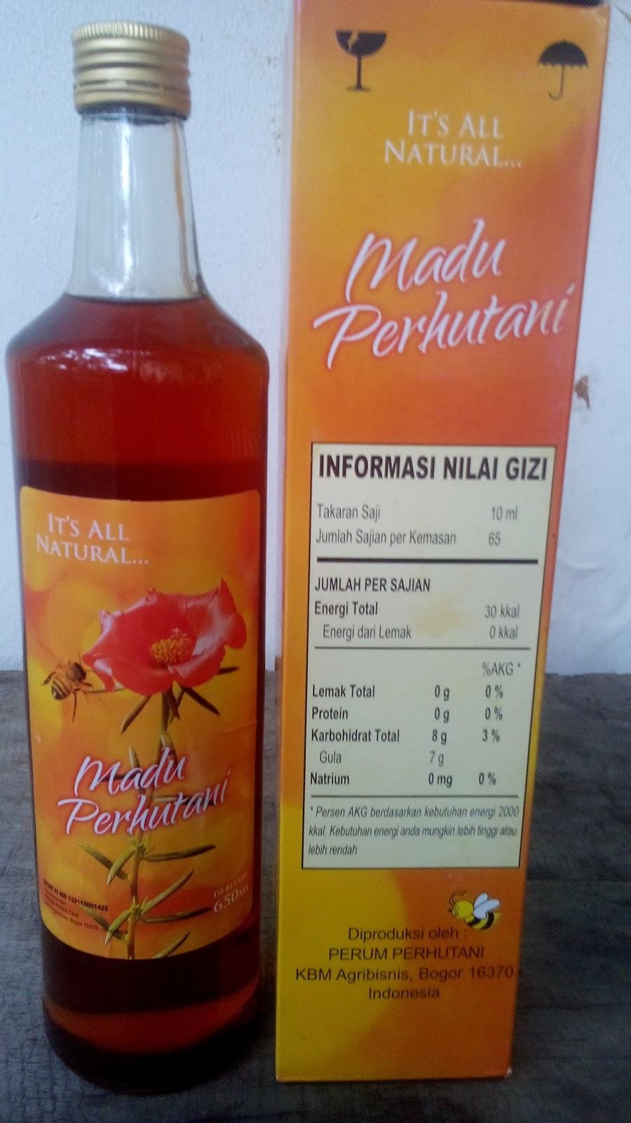 Outlet Madu Perhutani Bandung Murni Nusantara 650ml Rp 150000