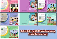 Download Buku K 13  Revisi 2017 untuk Kelas 5 SD/MI