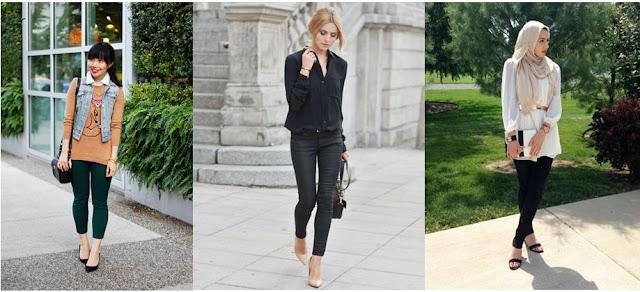 Kumpulan Style Model Baju Wanita Ngetrend Untuk Sehari - Hari