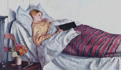 Michael Ancher, Nemocná dívka (1882)