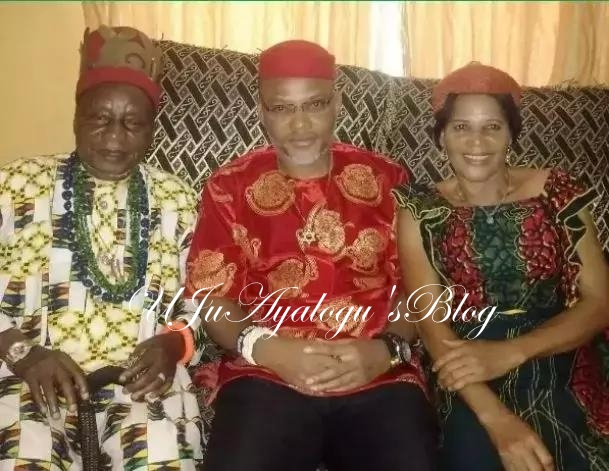Kanu and his Family allegedly whisked away by Combined security forces lead by the Army ..Destination Unknown