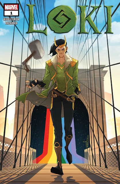 Loki núm.1 de Daniel Kibblesmith y Oscar Bazaldua