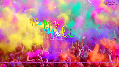 holi colorful wallpaper