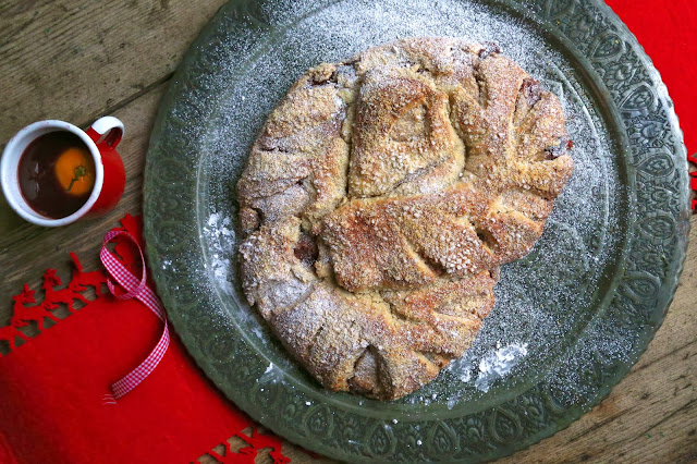 Cherry and Cinnamon Kringle recipe