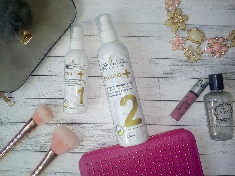Keep Professional. Serum i szampon przeciw wypadaniu włosów.