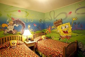 Dormitorio temático niños