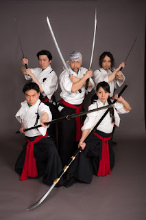 The Samurai Sword Artists Kamui
