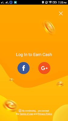 cara daftar di Aplikasi VeeU Android