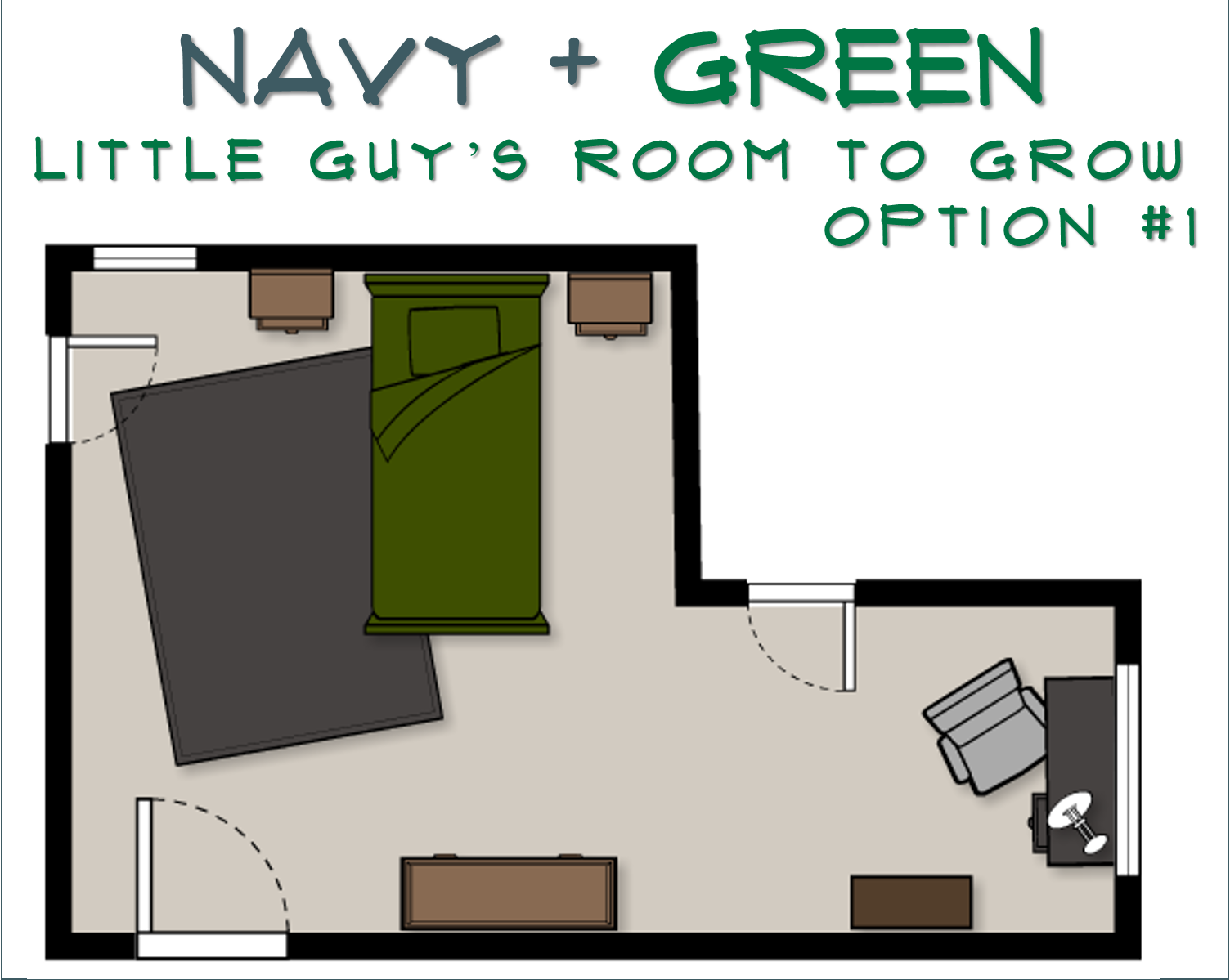 Grow Room Designs With Pictures And Diagram Farmall Cub 12 Volt Wiring Jessica Stout Design Navy Green To E