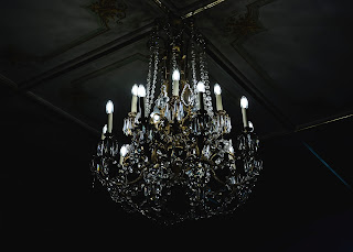 Chandelier - big light, but not nearly as useful or used as a night light
