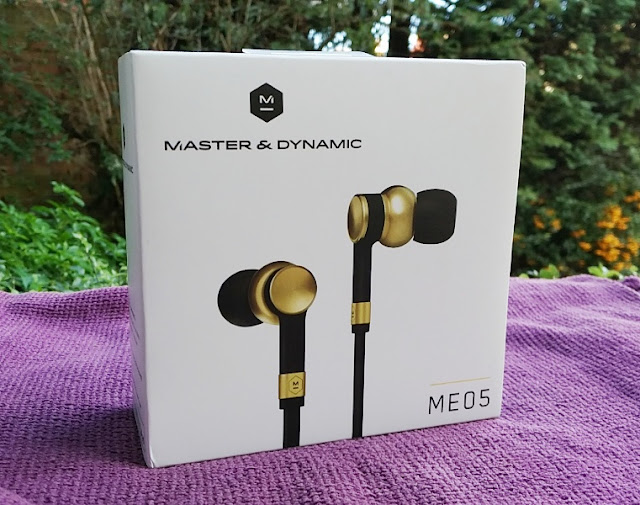 Master & Dynamic Me05 Brass Inwards Ear Headphones