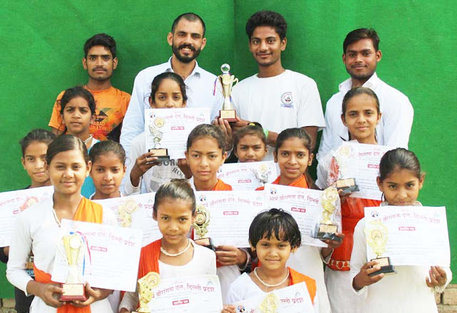 First time in Palwal's team in Delhi, 300 girls, best of 7 years' kirti