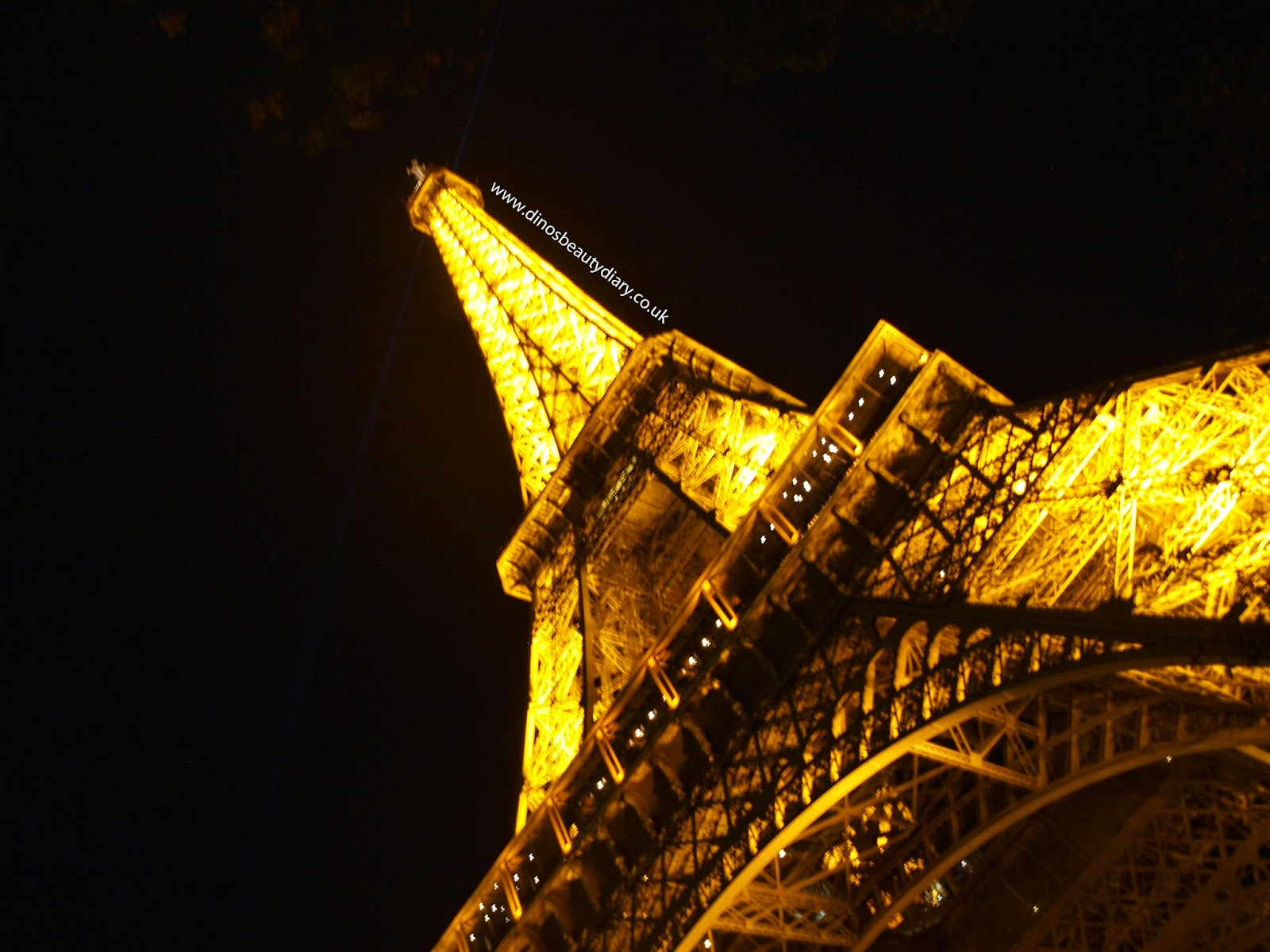 Dino's Beauty Diary - Paris Diary - Day Three - Lowest and Highest Points of Paris - Catacombs and the Eiffel Tower Summit