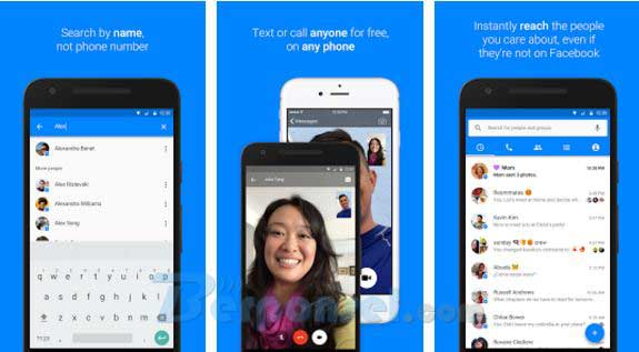 Apliaksi video call android facebook messenger gratis apk