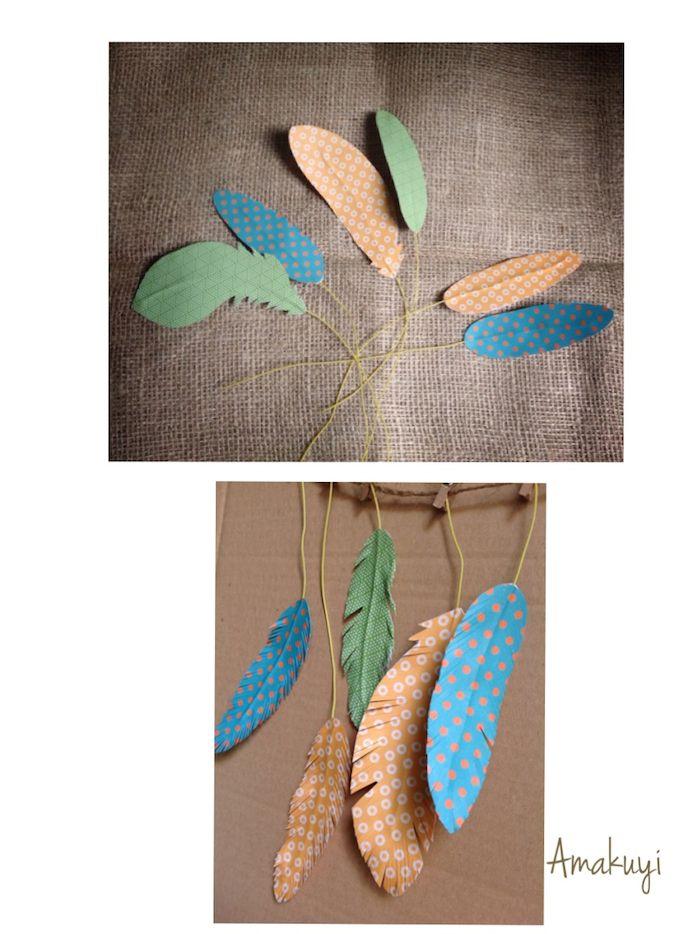plumas para el atrapasueños