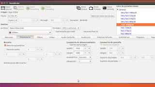 Handbrake y Linux Ubuntu