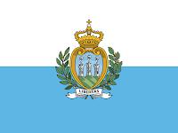 Logo Gambar Bendera Negara San Marino PNG JPG ukuran 200 px